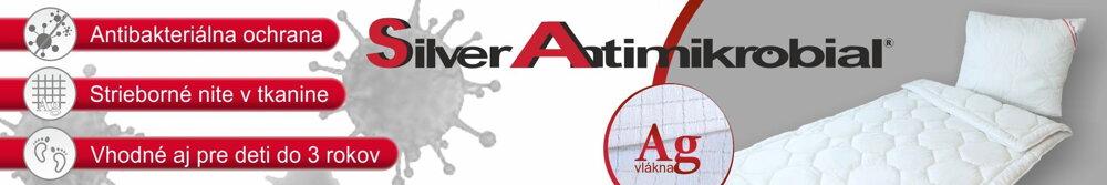 Antibakteriálne periny Silver Antimikrobial so striebornými vláknami | Áčko.sk